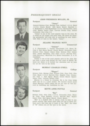 Page 14, 1954 Edition, Shead Memorial High School - Oracle Yearbook (Eastport, ME) online yearbook collection