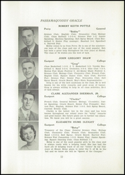 Page 15, 1954 Edition, Shead Memorial High School - Oracle Yearbook (Eastport, ME) online yearbook collection