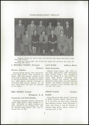 Page 8, 1954 Edition, Shead Memorial High School - Oracle Yearbook (Eastport, ME) online yearbook collection