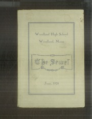 Page 1, 1928 Edition, Woodland High School - Jewel Yearbook (Woodland, ME) online yearbook collection