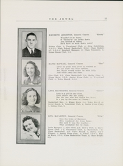 Page 13, 1940 Edition, Woodland High School - Jewel Yearbook (Woodland, ME) online yearbook collection