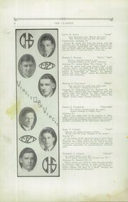Page 16, 1927 Edition, Cheverus High School - Clarion Yearbook (Portland, ME) online yearbook collection