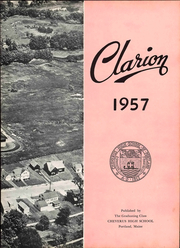 Page 9, 1957 Edition, Cheverus High School - Clarion Yearbook (Portland, ME) online yearbook collection