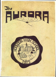 1925 Edition, Hodgdon High School - Aurora Yearbook (Hodgdon, ME)