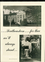 Page 13, 1948 Edition, Southeastern Louisiana College - Le Souvenir Yearbook (Hammond, LA) online yearbook collection