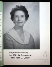 Page 7, 1961 Edition, Southeastern Louisiana College - Le Souvenir Yearbook (Hammond, LA) online yearbook collection