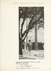 Page 5, 1964 Edition, Southeastern Louisiana College - Le Souvenir Yearbook (Hammond, LA) online yearbook collection