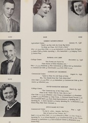 Page 16, 1954 Edition, Washburn High School - Northland Yearbook (Washburn, ME) online yearbook collection