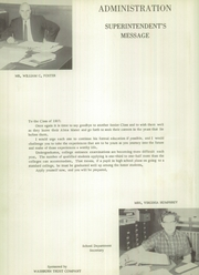 Page 8, 1957 Edition, Washburn High School - Northland Yearbook (Washburn, ME) online yearbook collection