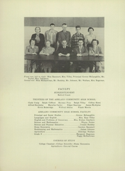 Page 6, 1950 Edition, Ashland High School - Echoes Yearbook (Ashland, ME) online yearbook collection