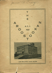 1937 Edition, Central Aroostook High School - Arostookan Yearbook (Mars Hill, ME)
