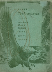 Page 1, 1943 Edition, Central Aroostook High School - Arostookan Yearbook (Mars Hill, ME) online yearbook collection