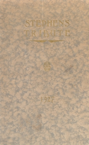 Page 1, 1927 Edition, Stephens High School - Tribute Yearbook (Rumford, ME) online yearbook collection