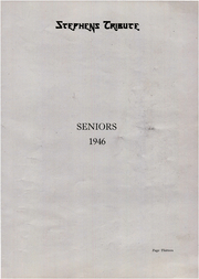 Page 13, 1946 Edition, Stephens High School - Tribute Yearbook (Rumford, ME) online yearbook collection
