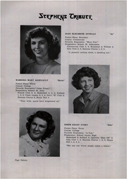 Page 16, 1946 Edition, Stephens High School - Tribute Yearbook (Rumford, ME) online yearbook collection