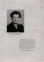 Page 7, 1946 Edition, Stephens High School - Tribute Yearbook (Rumford, ME) online yearbook collection