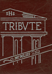 Stephens High School - Tribute Yearbook (Rumford, ME) online yearbook collection, 1953 Edition, Page 1