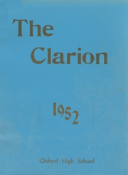 1952 Edition, Oxford High School - Clarion Yearbook (Oxford, ME)