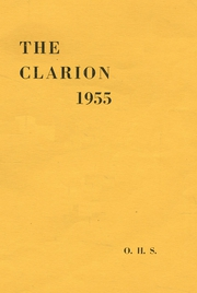 1955 Edition, Oxford High School - Clarion Yearbook (Oxford, ME)