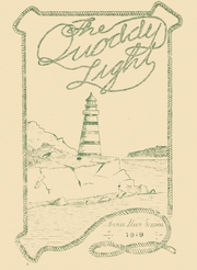 1919 Edition, Lubec High School - Quoddy Light Yearbook (Lubec, ME)