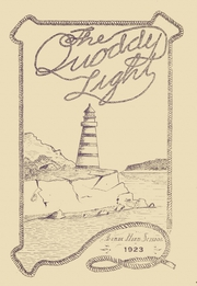 1923 Edition, Lubec High School - Quoddy Light Yearbook (Lubec, ME)