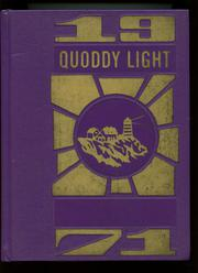 1971 Edition, Lubec High School - Quoddy Light Yearbook (Lubec, ME)