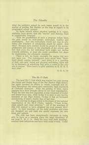 Page 9, 1923 Edition, Bar Harbor High School - Islander Yearbook (Bar Harbor, ME) online yearbook collection