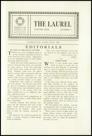Page 7, 1933 Edition, Farmington High School - Laurel Yearbook (Farmington, ME) online yearbook collection