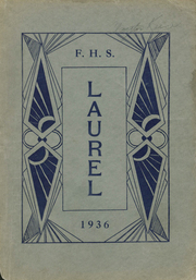 Farmington High School - Laurel Yearbook (Farmington, ME) online yearbook collection, 1936 Edition, Page 1