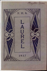 Farmington High School - Laurel Yearbook (Farmington, ME) online yearbook collection, 1937 Edition, Page 1