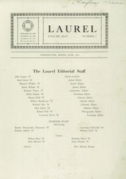 1945 Edition, Farmington High School - Laurel Yearbook (Farmington, ME)