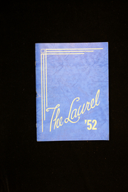 1952 Edition, Farmington High School - Laurel Yearbook (Farmington, ME)