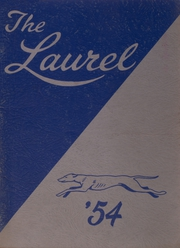 1954 Edition, Farmington High School - Laurel Yearbook (Farmington, ME)