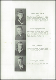Page 10, 1943 Edition, Deer Isle High School - Gatherer Yearbook (Deer Isle, ME) online yearbook collection