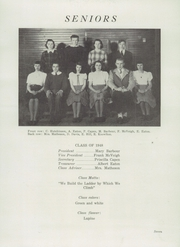 Page 9, 1948 Edition, Deer Isle High School - Gatherer Yearbook (Deer Isle, ME) online yearbook collection