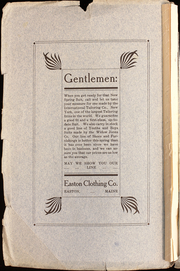 Page 2, 1910 Edition, Easton High School - Eastonia Yearbook (Easton, ME) online yearbook collection