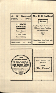 Page 8, 1910 Edition, Easton High School - Eastonia Yearbook (Easton, ME) online yearbook collection