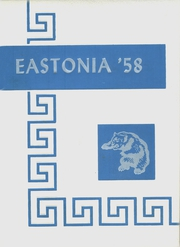 Page 1, 1958 Edition, Easton High School - Eastonia Yearbook (Easton, ME) online yearbook collection