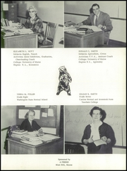 Page 11, 1958 Edition, Easton High School - Eastonia Yearbook (Easton, ME) online yearbook collection