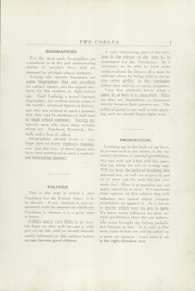 Page 9, 1928 Edition, Bridgton High School - Corona Yearbook (Bridgton, ME) online yearbook collection