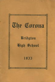 1933 Edition, Bridgton High School - Corona Yearbook (Bridgton, ME)