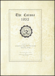 Page 3, 1952 Edition, Bridgton High School - Corona Yearbook (Bridgton, ME) online yearbook collection