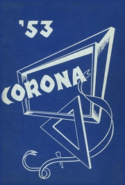 1953 Edition, Bridgton High School - Corona Yearbook (Bridgton, ME)