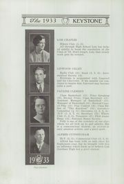 Page 16, 1933 Edition, Crosby High School - Keystone Yearbook (Belfast, ME) online yearbook collection