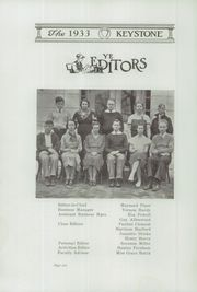 Page 8, 1933 Edition, Crosby High School - Keystone Yearbook (Belfast, ME) online yearbook collection