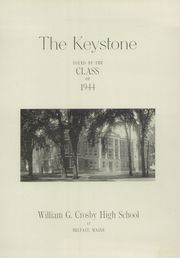 Page 5, 1944 Edition, Crosby High School - Keystone Yearbook (Belfast, ME) online yearbook collection