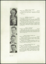 Page 12, 1948 Edition, Crosby High School - Keystone Yearbook (Belfast, ME) online yearbook collection