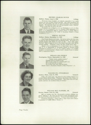 Page 14, 1948 Edition, Crosby High School - Keystone Yearbook (Belfast, ME) online yearbook collection