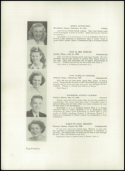 Page 16, 1948 Edition, Crosby High School - Keystone Yearbook (Belfast, ME) online yearbook collection