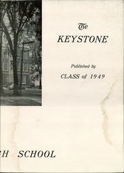 Page 5, 1949 Edition, Crosby High School - Keystone Yearbook (Belfast, ME) online yearbook collection